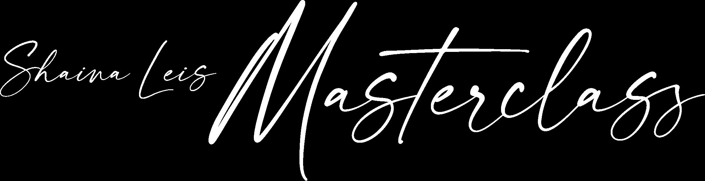 Shaina Leis Masterclass Logo